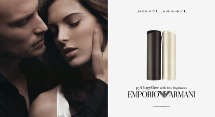 joseph cardo emporio armani parfum world campaign
