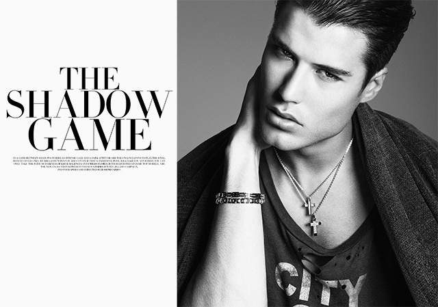 joseph cardo emilio flores diary shadow game fashion luca barra